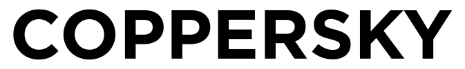 COPPERSKY Logo black