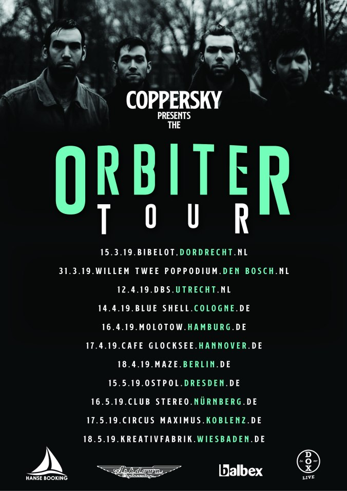 Coppersky Orbiter tour-01